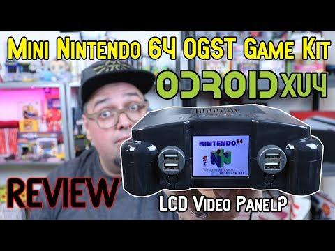 Nintendo 64 Mini Odroid Xu4 Gaming Kit Review