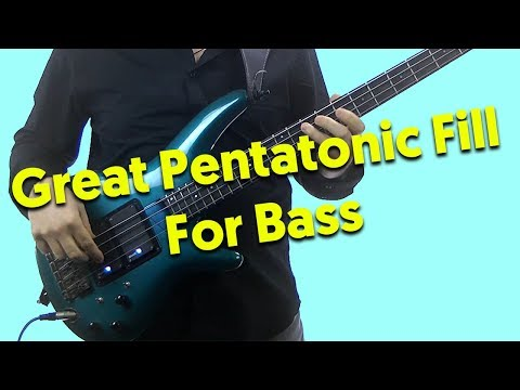 Great Pentatonic Fill For Bass