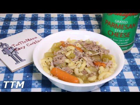 Turkey Noodle Soup~Crock Pot Turkey Leg Recipe~Turkey Leg Soup in the Slow Cooker