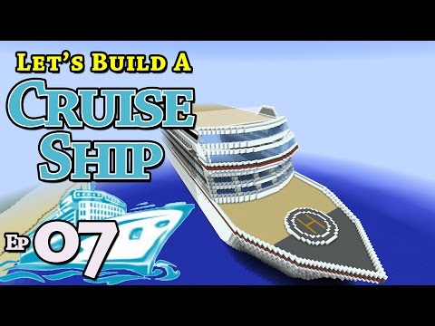 How To Build A Cruise Ship :: Minecraft :: E7 :: Z One N Only
