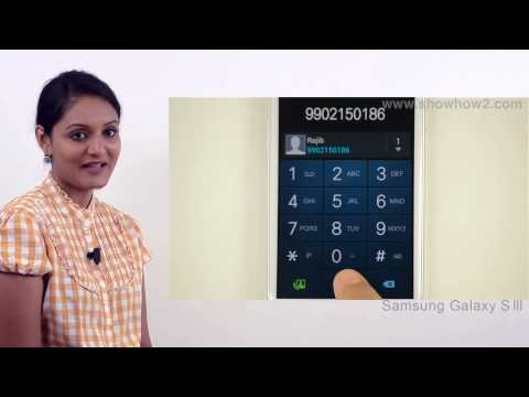 Samsung Galaxy S3 - Set Up A Conference Call - Preview