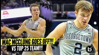 """Mac McClung GOES OFF vs Marquette!! Proves Haters Wrong AGAIN! """"You Going to Georgetown To Sit!"""" LOL"""