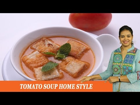 TOMATO SOUP HOME STYLE - Mrs Vahchef