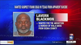 Desha County suspect found dead in Texas from apparent suicide