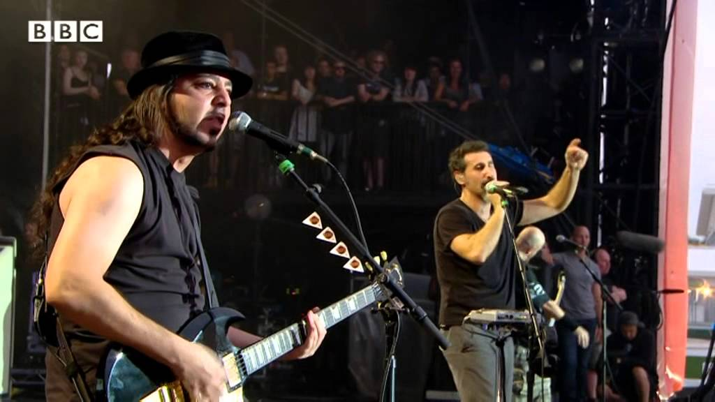 System of A Down - Radio/Video at Reading Festival 2013