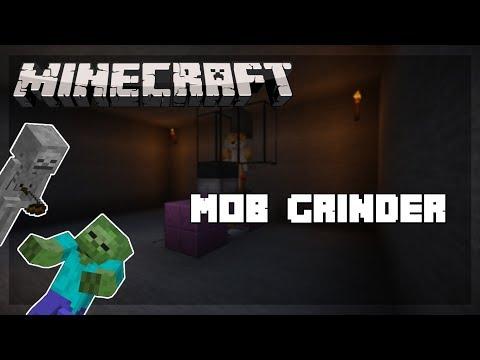 Minecraft : (FAST & EFFICIENT) Skeleton/Zombie XP Farm [ Tutorial ]