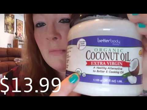 Coconut oil - for weight loss & dropping blood sugar levels