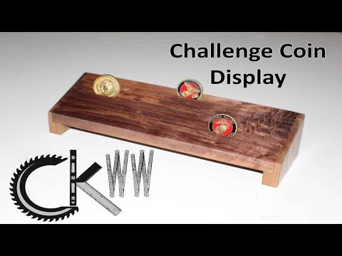 Challenge Coin Display | CKWW