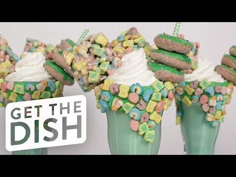How to Make a Lucky Charms Milkshake | Get the Dish
