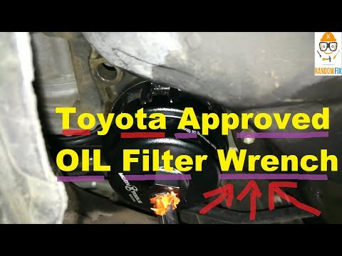 ▶️Toyota Oil Filter Wrench in Action, Great Quality + Shop Rated, Lexus Oil Filter Wrench