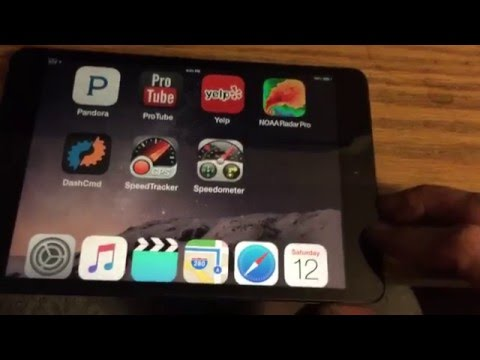 HOW TO: iPad Dash Install SOFTWARE