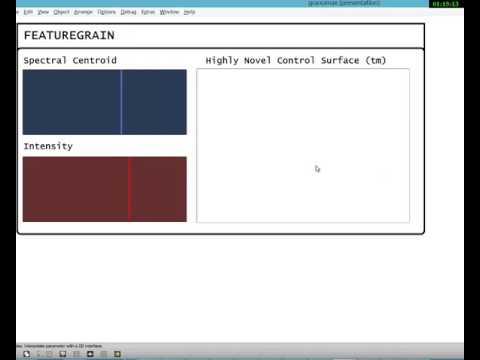 Featuregrain - sorted granular synthesis
