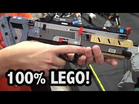 LEGO Titanfall 2 Alternator Gun and Time Device | Brickworld Chicago 2017