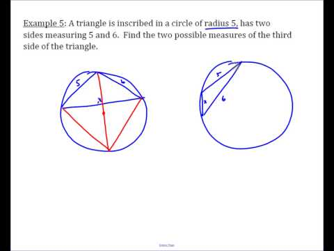 Ptolemy Example - Completing a Triangle