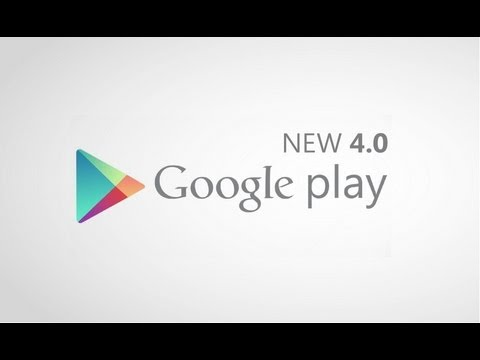 New Google Play Store App 4.0