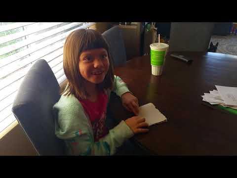 Bella gets her acceptance letter from Hogwarts!