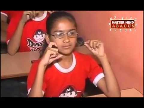 BRILLIANT INDIAN STUDENT - Courtesy - Master Mind Abacus