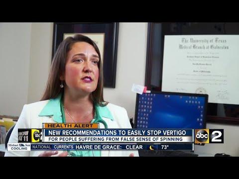 New recommendations to easily stop vertigo