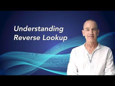 Understanding Reverse Lookup