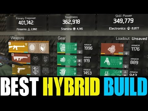THE ULTIMATE HYBRID BUILDS IN UPDATE 1.8.1 | BETTER THAN META BUILDS? (THE DIVISION)