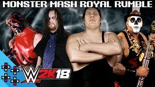 WWE 2K18: MONSTER MASH ROYAL RUMBLE!!! - WWE 2K18 Match Sims