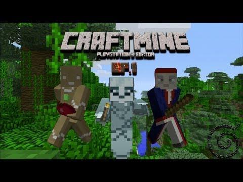 CraftMine Adventures Ep.1 ( Minecraft PS3 Edition Multiplayer )