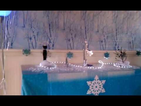 Brinkley's Sweet 16 Winter Wonderland Decor