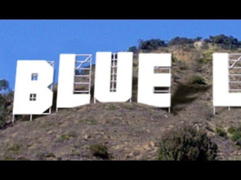 Photoshop Tutorial:How to Replace the HOLLYWOOD billboard sign with your OWN NAME