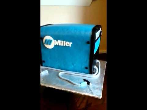 Miller Dynasty Welding Machine Cake