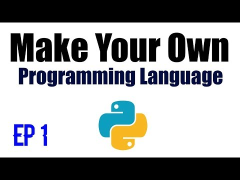Make Your Own Programming Language - Ep 1 - Lexer