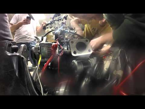 Time Lapse Of Engine Install