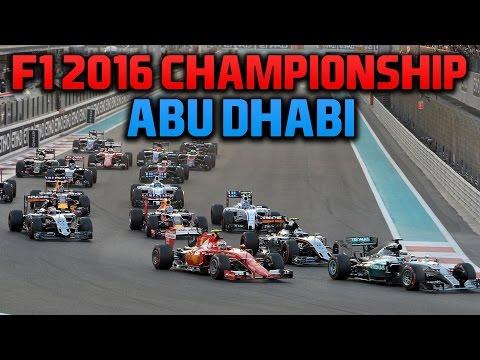 rFactor F1 2016 NRL - Round 15 - Abu Dhabi Grand Prix