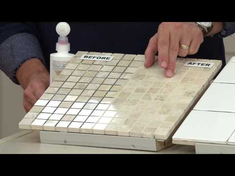 Grout Finish Tile and Stone Finish and Sealer for Grout Joints with Dan Hughes