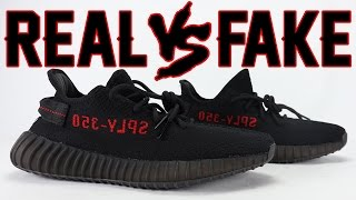 Adidas Yeezy Boost 350 V 2 Core Black Red Bred Size 8 5 US