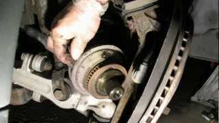 VW Golf Jetta Driveshaft CV Joint Removal Simple Easy Steps