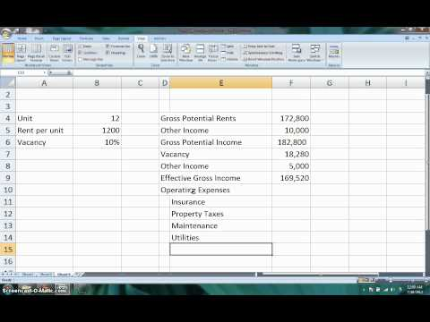 How to Calculate the Net Operating Income (NOI) & Cap Rate for Real Estate Invesments