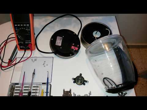 Electric Kettle HHB1748 Repair and Assembly