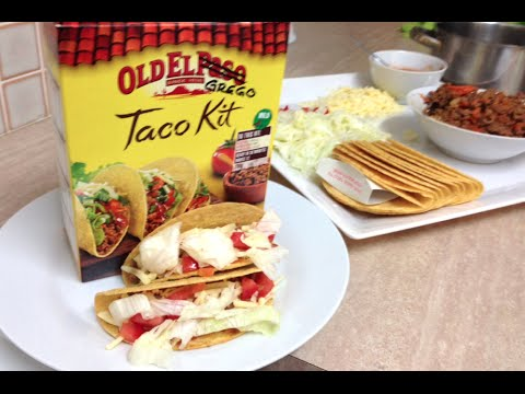 TACO DINNER BOX - HOW TO MAKE TACOS  - Greg's Kitchen
