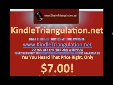 Kindle Triangulation Bonus#5   By James J Jones
