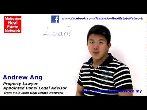 Property Investment Malaysia Legal Tips No 16 - What is Property Loan?