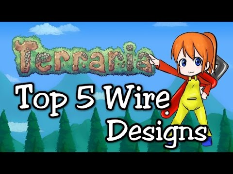 Terraria 1.3 Top 5 Wire Designs! (1.3.1 wiring update prep)