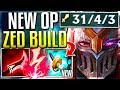 (NEW ITEM) STORMRAZOR MAKES ZED GOD-TIER! HOW DO YOU FIGHT THIS? - League of Legends