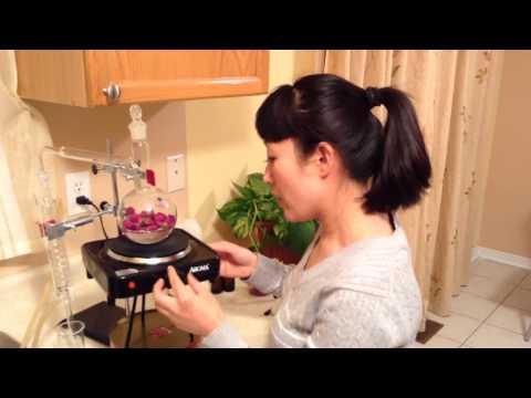 How To Make Rose Water Using Distillation Kit