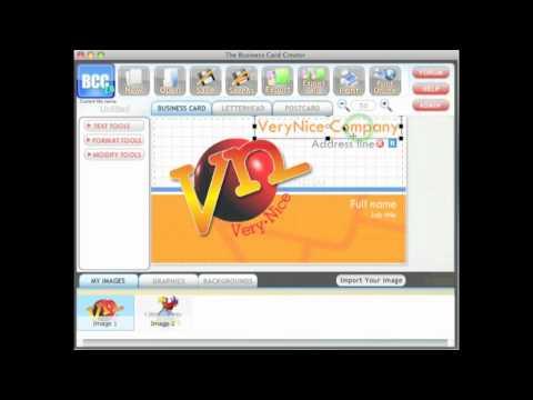 Logo Designer™ - Business Card Creator Tutorial