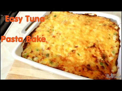 Easy Tuna Pasta Bake With Cheese Sauce | Recipes By Chef Ricardo