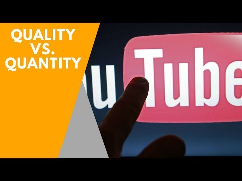 Quality vs Quantity - How Often Should You Upload Videos to YouTube