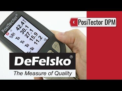 DeFelsko - PosiTector DPM Dew Point Meter (product video presentation)
