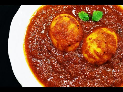 Perfect Egg Masala Curry - Chef Lall's Kitchen