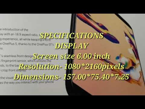 One Plus 5T Launch...Full Specifications!!!!