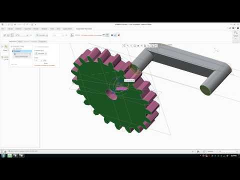 How to Draw and Assemble Involute Gears in Creo Paramatric Assembly - Part 3